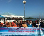 Indonesian Fishermen Declare Natuna Sea Security Refusing Illegal Fishing
