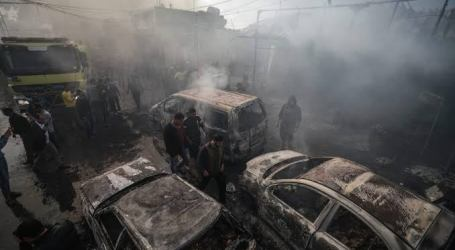 Market Fires in Gaza Kill Ten People