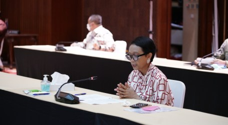 Minister Retno Continues Encouraging Affordable Vaccines for Developing Countries