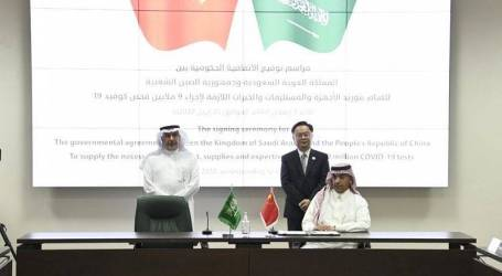 Saudi-China Sign Agreement to Provide 9 Million COVID-19 Tests