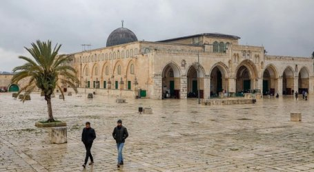 The Third Friday of Ramadan at Aqsa Mosque, Palestine