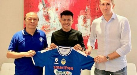 Indonesian Footballer, Witan Sulaiman Premiers in Serbian League
