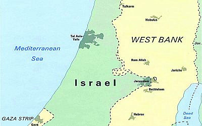 The West Bank, Palestinian Territory which Israel Wants to Annex