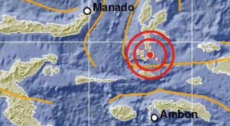 7.1 M Earthquake Hit North Maluku, No Tsunami Potential