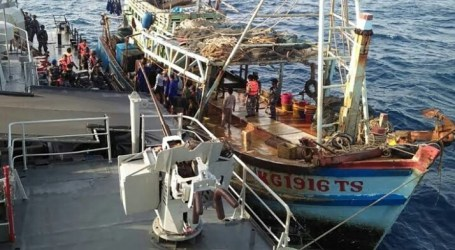 Indonesia Capture Illegal Fishing Vessels from Philippines, Malaysia