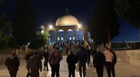 Great Fajr Movement Held in the West Bank and Al-Quds City