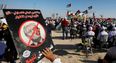 Thousands of Jericho Residents Protest Israel's Annexation Plan