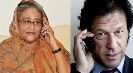 Pakistan-Bangladesh PM Discuss Kashmiri Issues in Telephone Call
