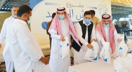 Muslim World League Inaugurates Project to Distribute Meat in Pakistan