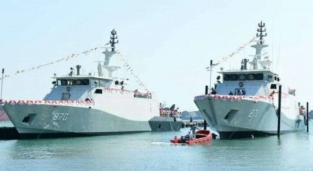 Indonesian Navy Lunched 2 Warships at Riau Islands