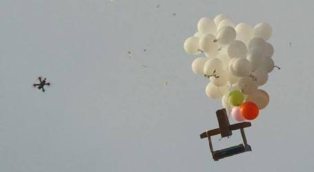 Gaza's Incendiary Balloons Fire Five Israeli Settlements
