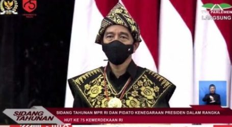 Indonesian Presiden's Annual Speech, Talks About Energy Independence In The Middle Of Crisis