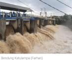 Katulampa Dam Warns Residents of Jakarta about Flood