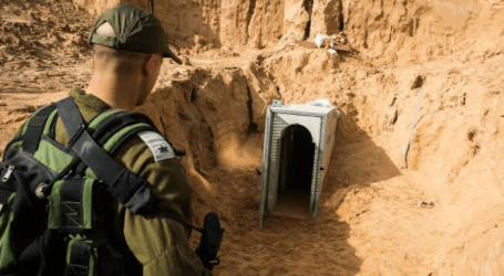 Israel Discover A New Cross-Border Tunnels from Gaza Strip