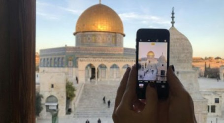 Jerusalem Residents Launch 'Your' Photo Campaign at Al-Aqsa Mosque