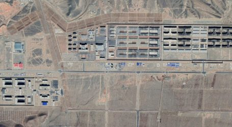 Satellite Image Shows Xinjiang Detention Center 1.9 miles