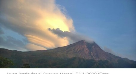 Mount Merapi Alert, 635 Residents Evacuated