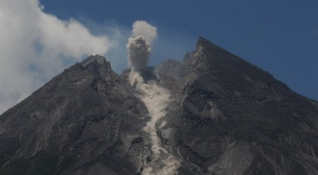 Monitor Mount Merapi from the Air, Disaster Agency Finds Many New Landslides
