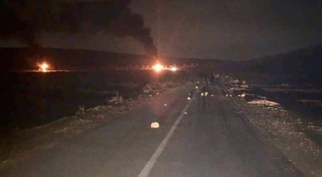 Palestinians Protest Killing of Aliya by Burning Israel Memorial