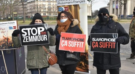 Protest in Paris Over Anti-Muslim Draft Law