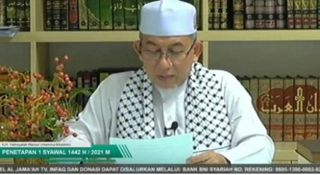 Jama'ah Muslimin Annouces 1 Shawwal to Fall on May 13