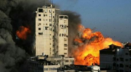 Israel Forces Destroy Media Offices in Gaza