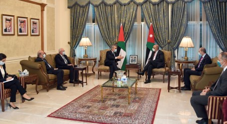 Palestinian and Jordanian Premiers Meet in Amman, Discuss Gaza Reconstruction
