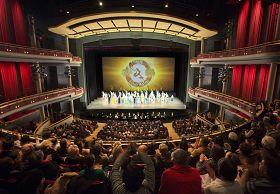 '神韵纽约艺术团二零一二年十二月二十日至二十三日,在加拿大密西沙加北美首演的四天五场演出场场爆满。'