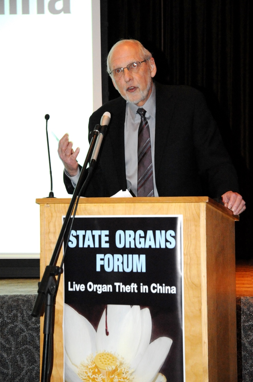 Alastair Lucas, the interim president of the Sheldon Chumir Foundation and a law professor at the University of Calgary, was the host of the forum.