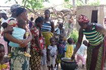 Preparation of enriched porridge