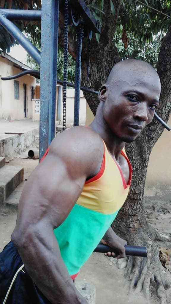 Togo/Bawa Aliou, a Paralympic athlete who honors his country