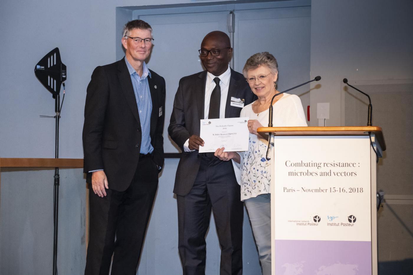 DR. DIDIER KOUMAVI EKOUEVI WINS THE  DEDONDER-CLAYTON AWARDS.
