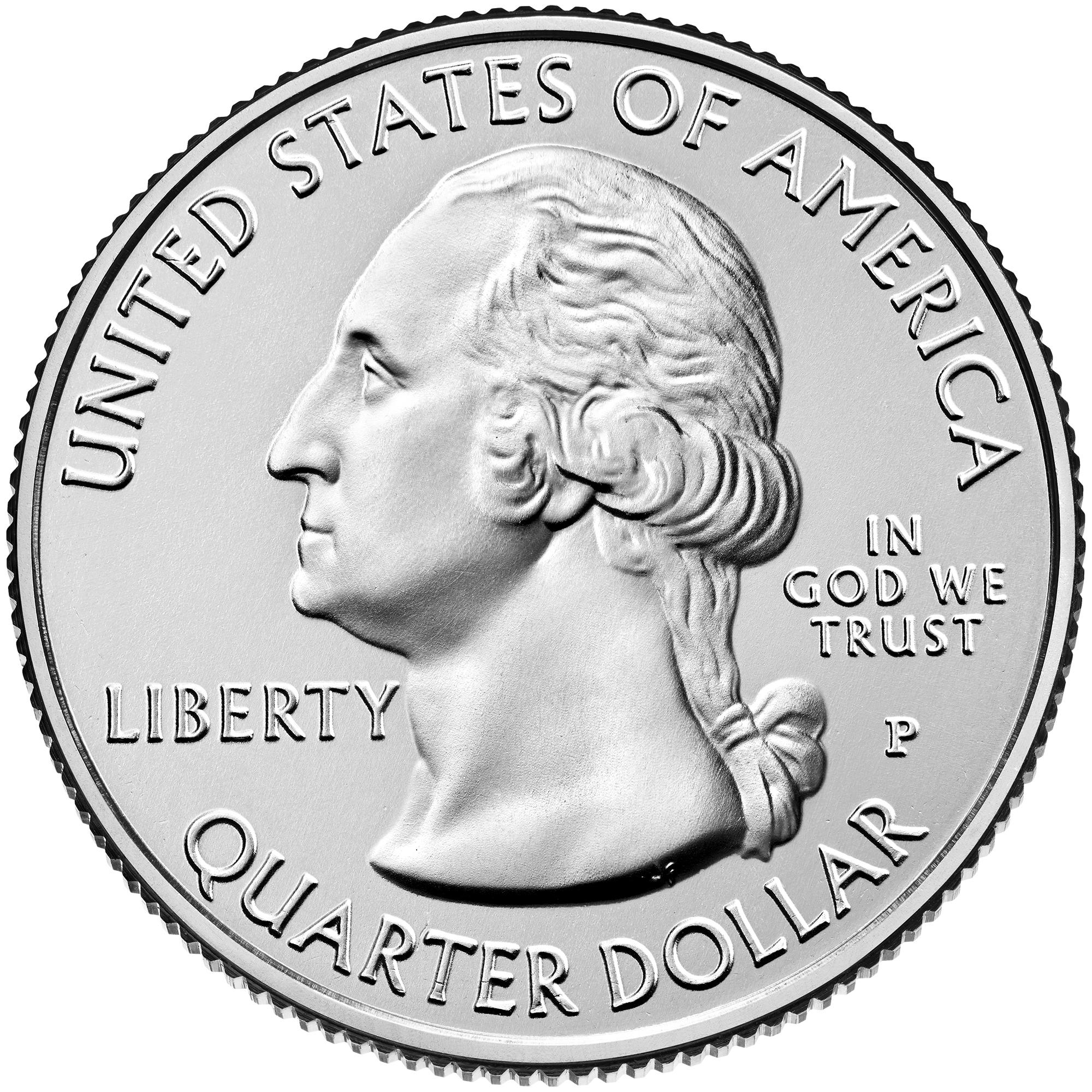 Dollar Washington Quarter Theodore Roosevelt National Park North Dakota