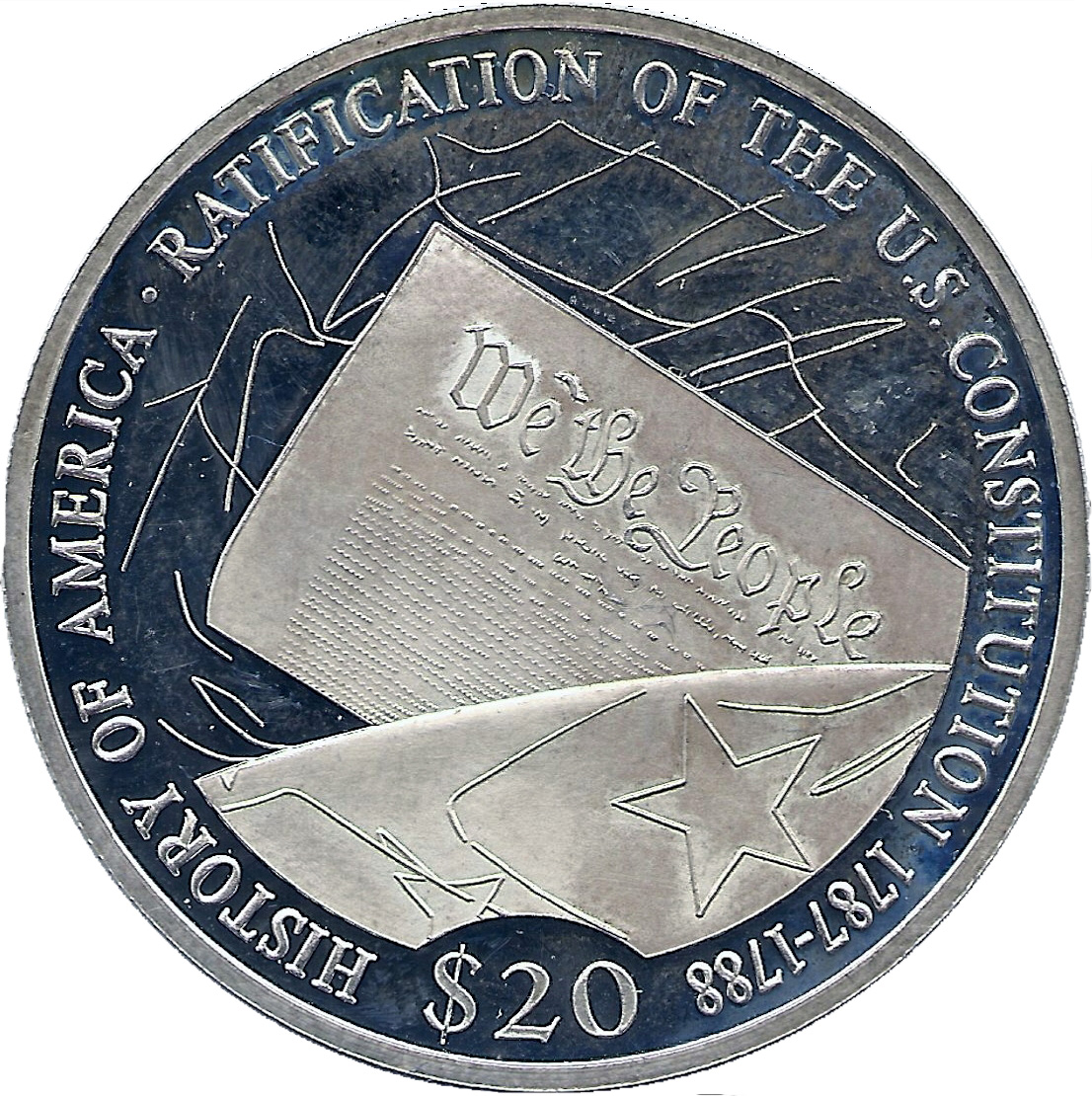 20 Dollars Ratification Of The U S Constitution