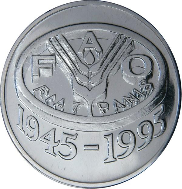 100 Lei (FAO) - Romania – Numista