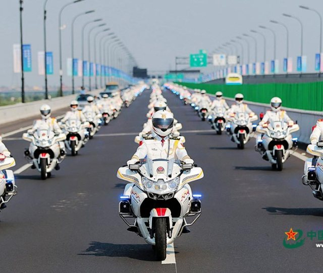 After The Establishment Of The Pla Honor Guard China Implemented Motorcycle Escorts In June 1954 For Visiting Foreign Leaders Then Prime Minister Of India