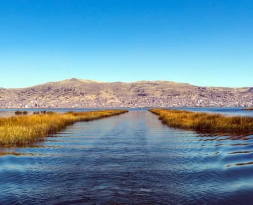 Lago Titicaca Puno Peru