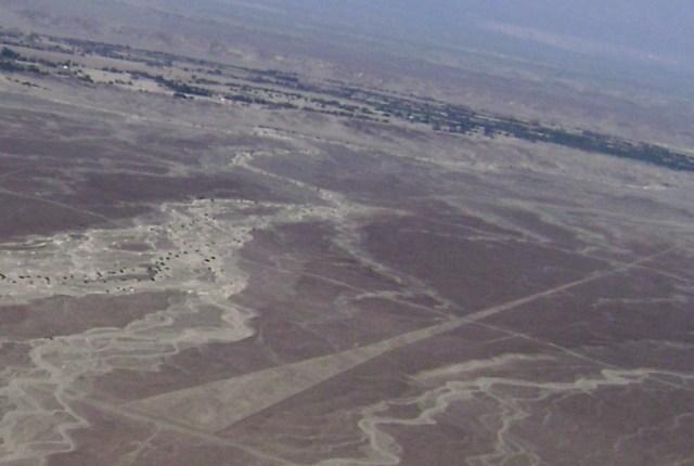 Nazca Linien Trapez
