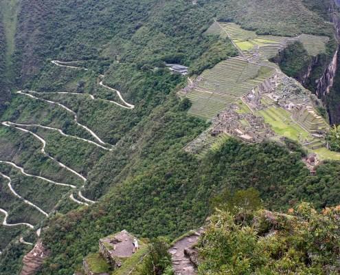 Architecture in Machu Picchu