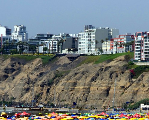 Barranco - view from the Pacific