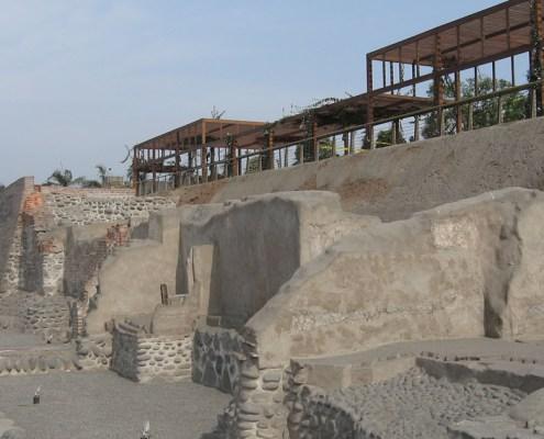 The Parque de la Muralla – resort and archeological site