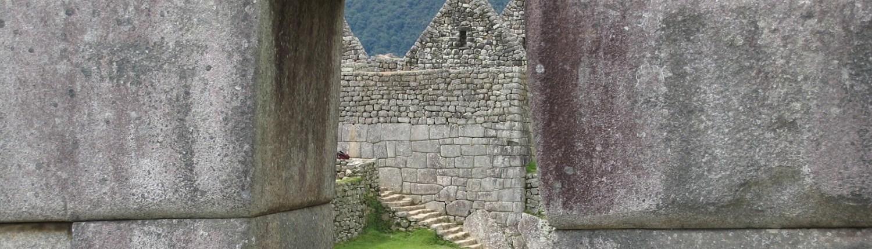 Fenster Gebäude Machu Picchu