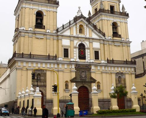 Churches in Lima Peru