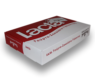 Lacta Chocolate Cake container for Papagalino Confectionery by PGS Packaging