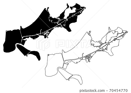 New orleans tourist attractions map. Orleans County Louisiana U S County United Stock Illustration 70454770 Pixta