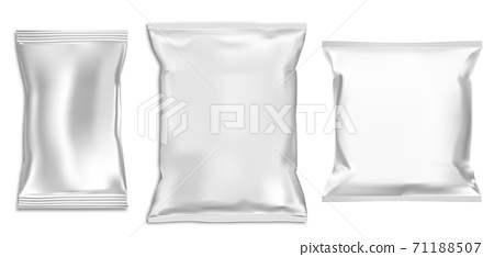 Just add your own custom design inside the smart object and you are done. Plastic Bag Mock Up Foil Snack Pack Food Packet Stock Illustration 71188507 Pixta