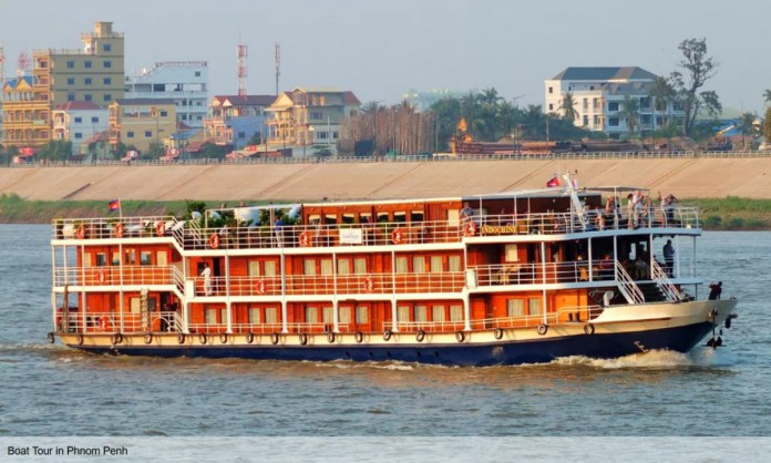 The Ministry of Tourism requires the tourism boat owner to apply the standard Cambodian boats