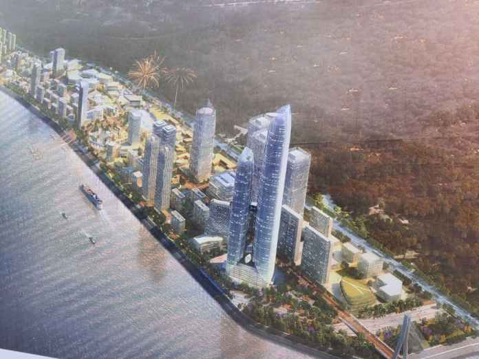 OCIC reveals the size of Koh Norea Satellite City