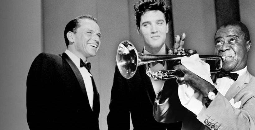 Musica para descargar - Frank, Elvis y Louis