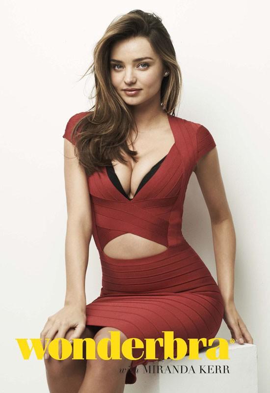 Miranda Kerr Dazzles In Sexy Lingerie For Wonderbra New